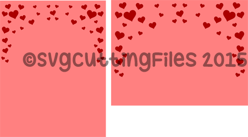 Card Front Overlay - Hearts