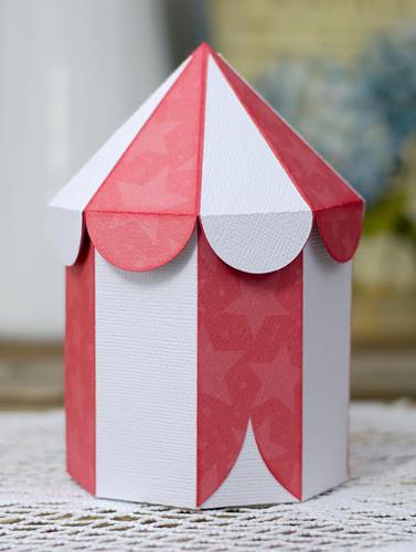 Circus Tent Box