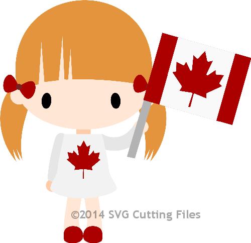 Chibi Canada Girl