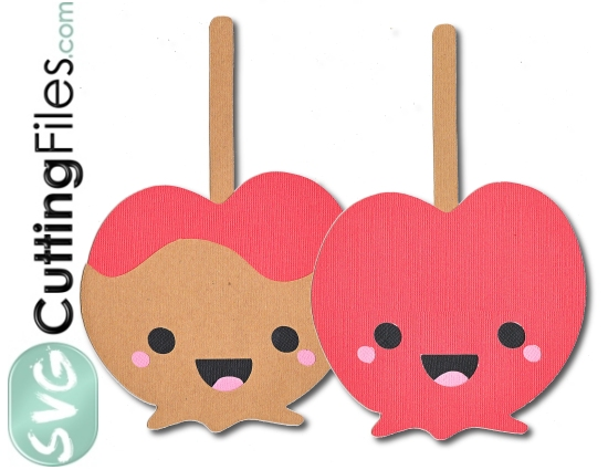 Kawaii Candy Caramel Apple
