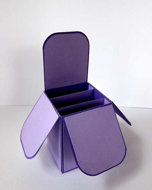 Card Box Round Edge