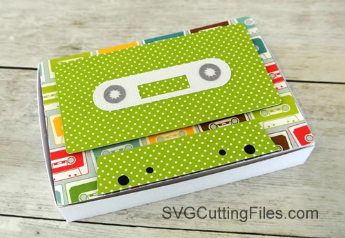 Cassette Tape Nugget Box