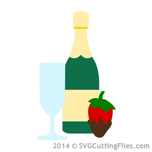 Champage and Strawberries