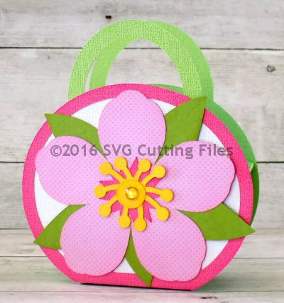 Cherry Blossom Handle Bag