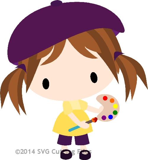 Chibi Artist Girl