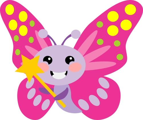 Chibi Butterfly Wand