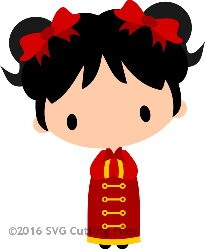 Chibi Chinese New Year Girl