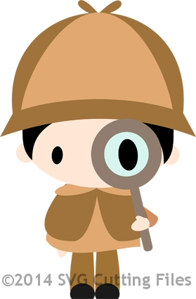 Chibi Detective Sleuth