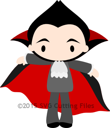 Chibi Dracula with Cape