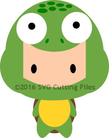 Chibi Dressed Turtle