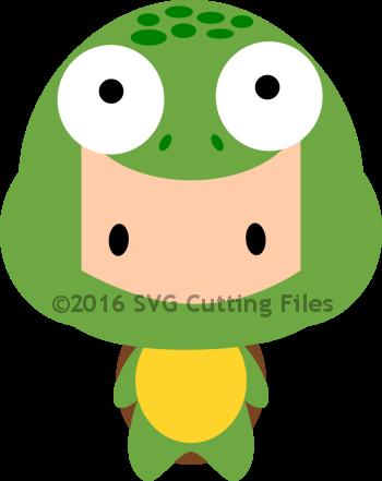 Chibi Dressed Turtle