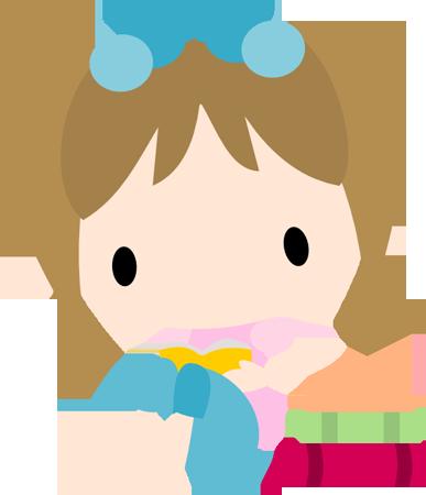 Chibi Girl Reading