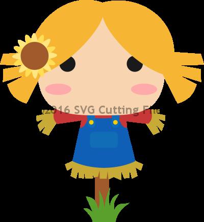 Chibi Scarecrow Girl