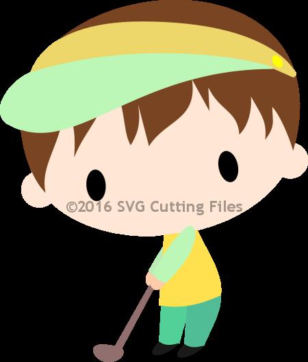 Chibi Golfer Boy