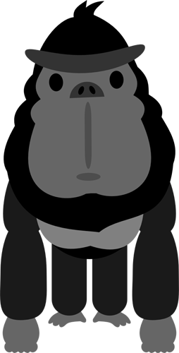 Chibi Gorilla