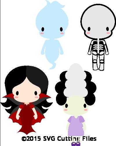 Chibi Halloween Kids