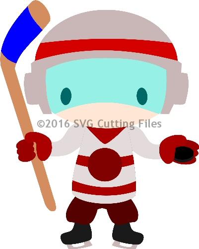CHibi Hockey Player