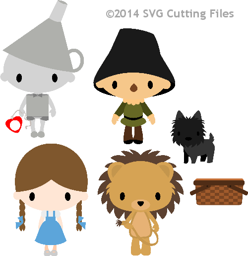 Chibi Kid Oz - Set 1