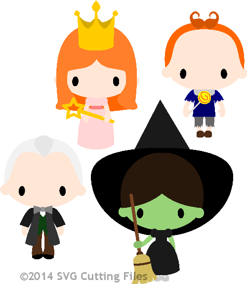 Chibi Kid Oz - Set 2