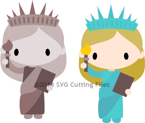 Chibi Statue of Liberty