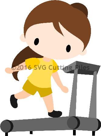 Chibi On Treadmill