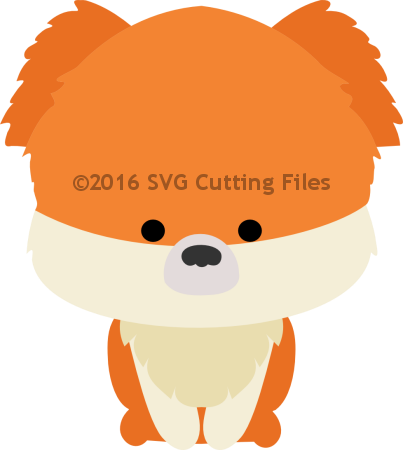 Chibi Pomeranian Pup