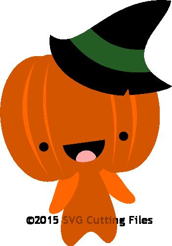 Chibi Halloween Pumpkin