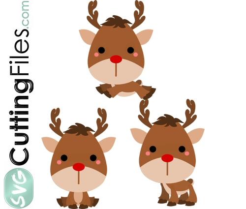 Chibi Reindeers