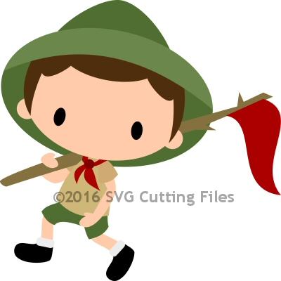 Chibi Scout Boy