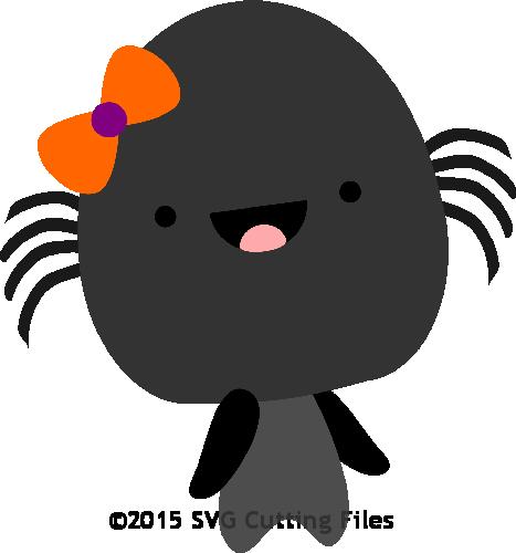 Chibi Halloween Spider