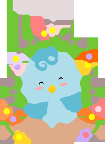 Chibi Spring Bird
