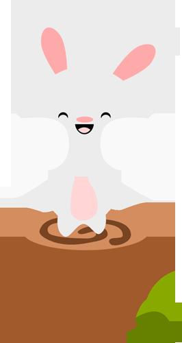 Chibi Spring Bunny