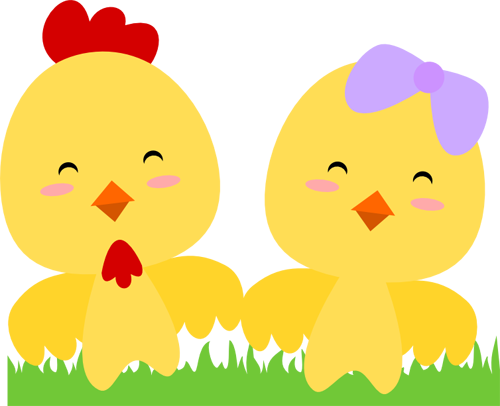 Chibi Spring Chicks