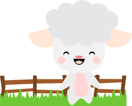 Chibi Spring Sheep