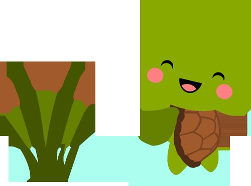 Chibi Spring Turtle