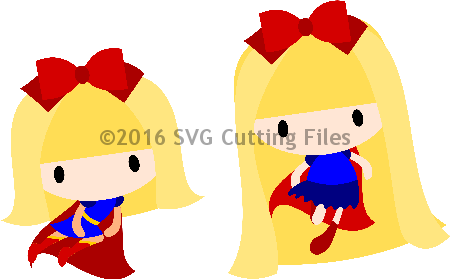 Chibi Super Girl Set