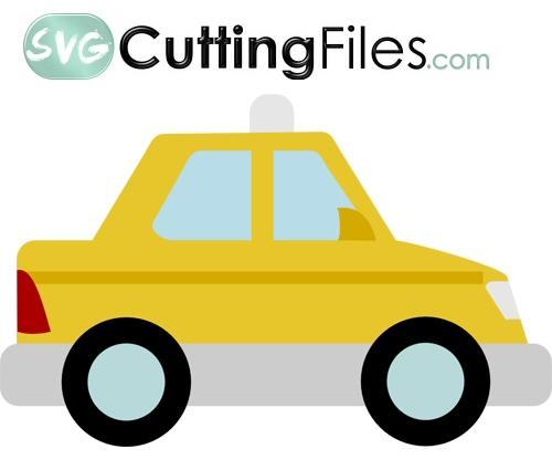 Chibi Taxi Cab