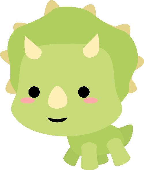 Chibi Triceratops