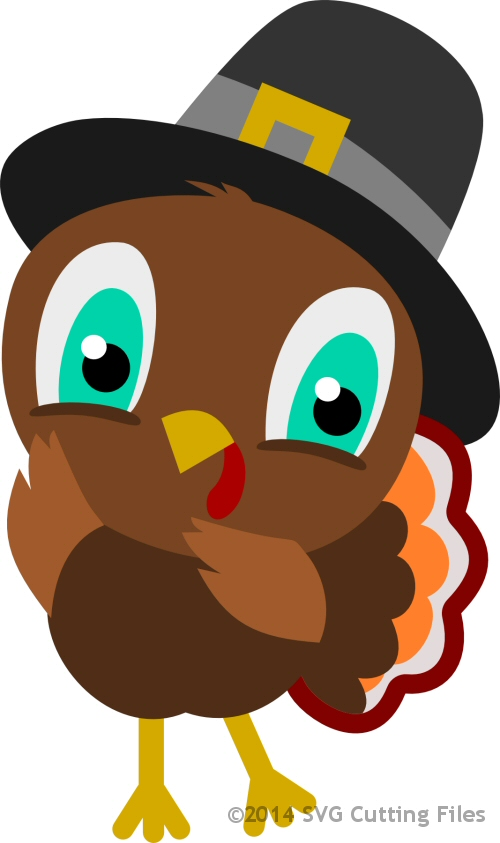 Chibi Turkey Pilgrim