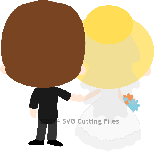 Chibi Wedding Backside