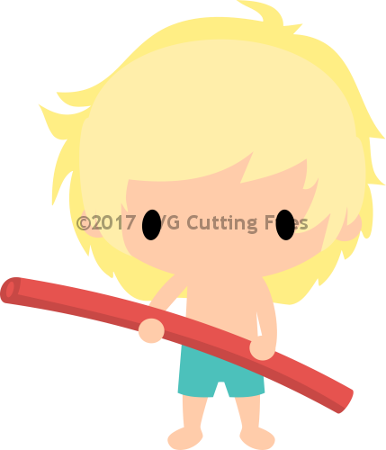 Chibi Boy Pool Noodle