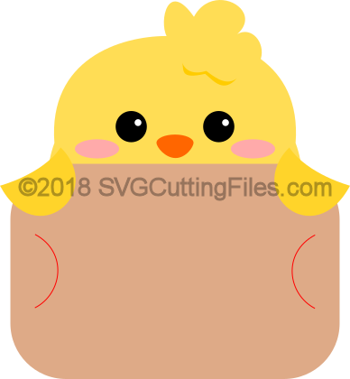 Chick Gift Card Peeker