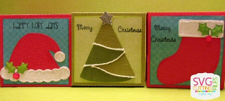 Christmas Soap Holders (new Oval size)