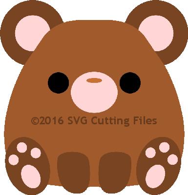 Chunky Animal- BEAR
