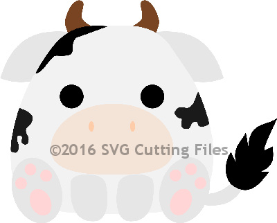 Chunky Animal- COW