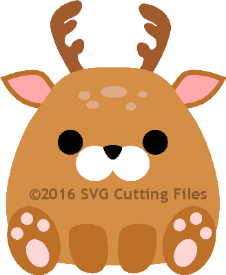 Chunky Animal- DEER