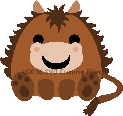 Chunky Animal- HORSE