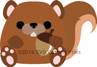 Chunky Animal- SQUIRREL