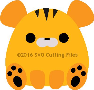 Chunky Animal- TIGER