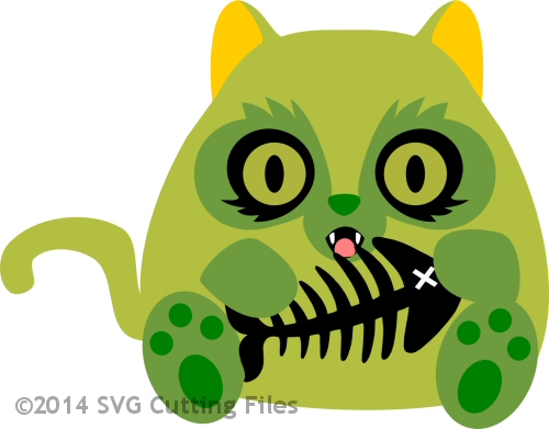 Zombie Chunky Kitty